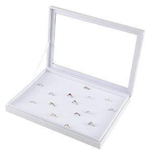Mixed24 Schmuckkasten für Ringe und Ohrringe